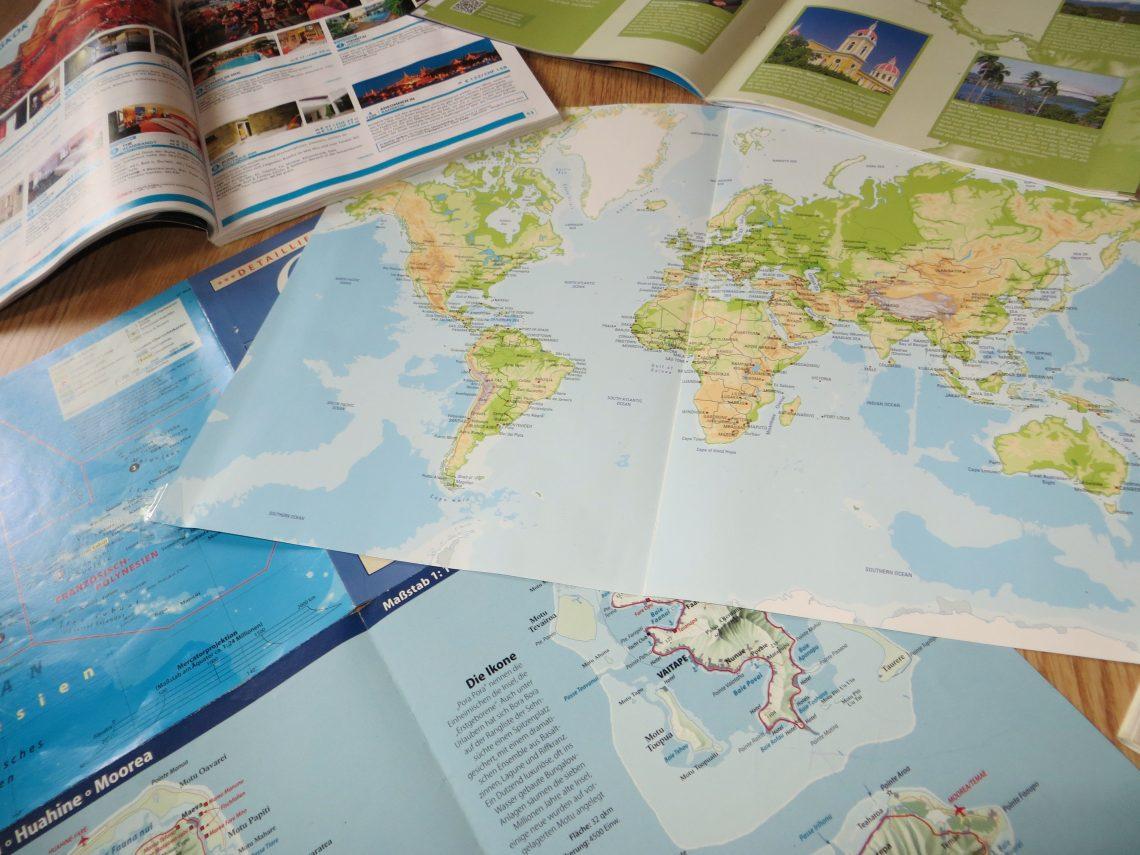 Routenplanung einer Weltreise - so findest du deinen Weg