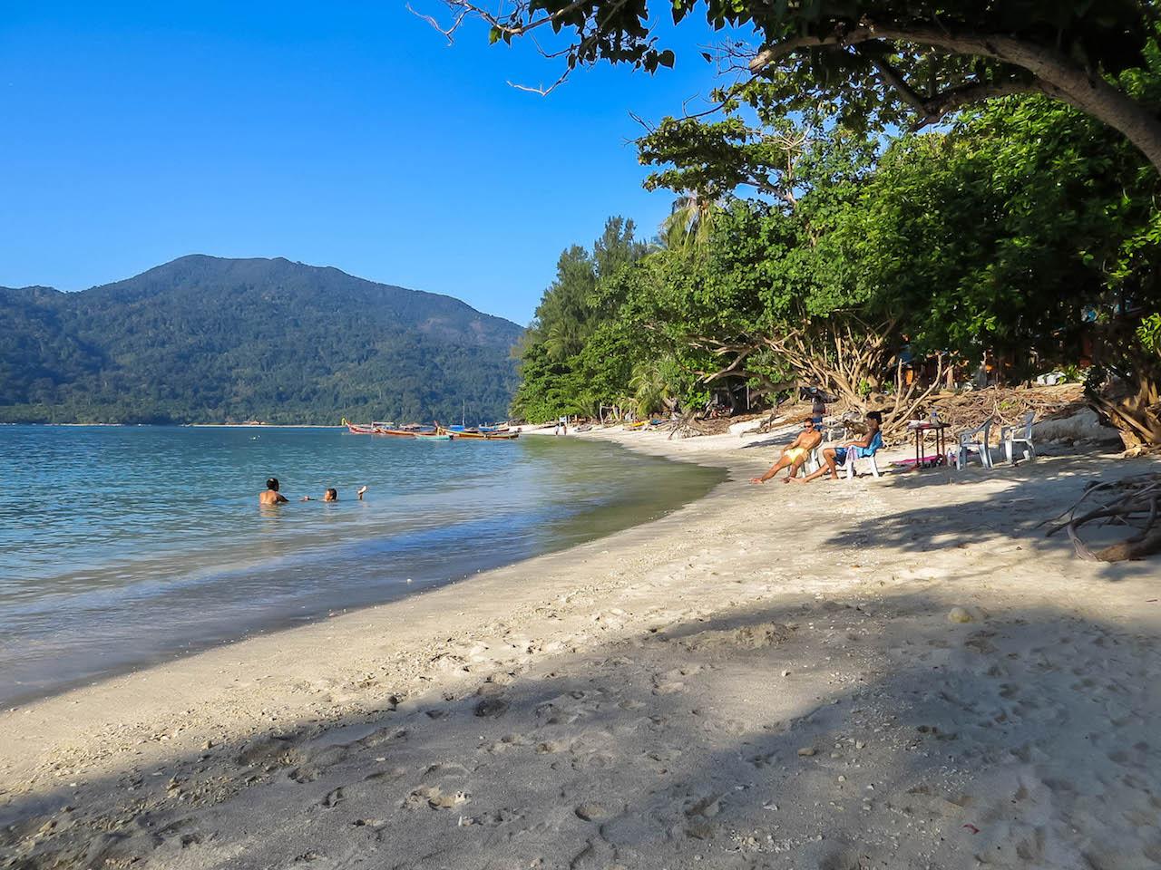 Beach auf Koh Lipe.