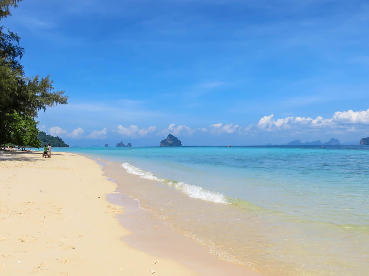 Koh Kradan, die Honeymoon Island.