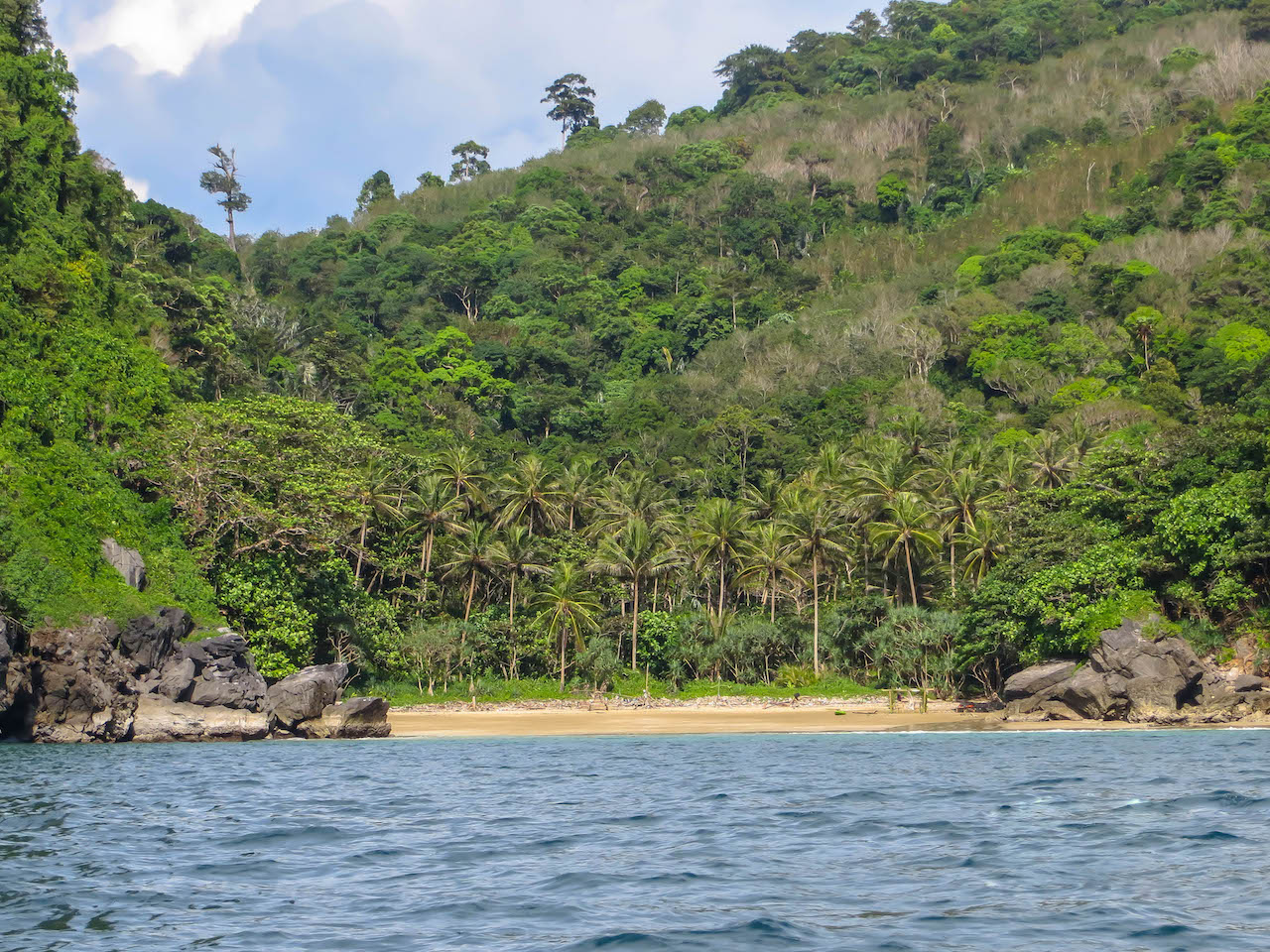 Der einsame Sabai Beach auf Koh Muk.