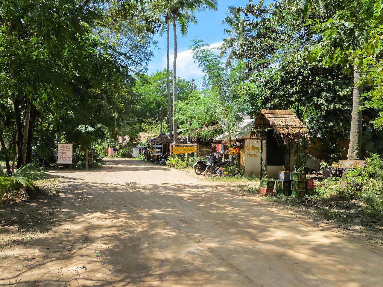 Im Inselinnern von Koh Lanta.