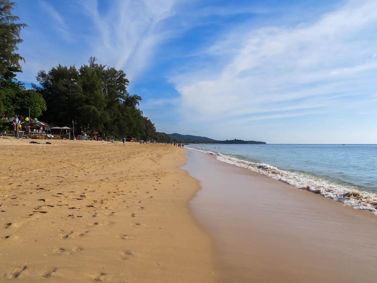 Strandleben auf Koh Lanta.