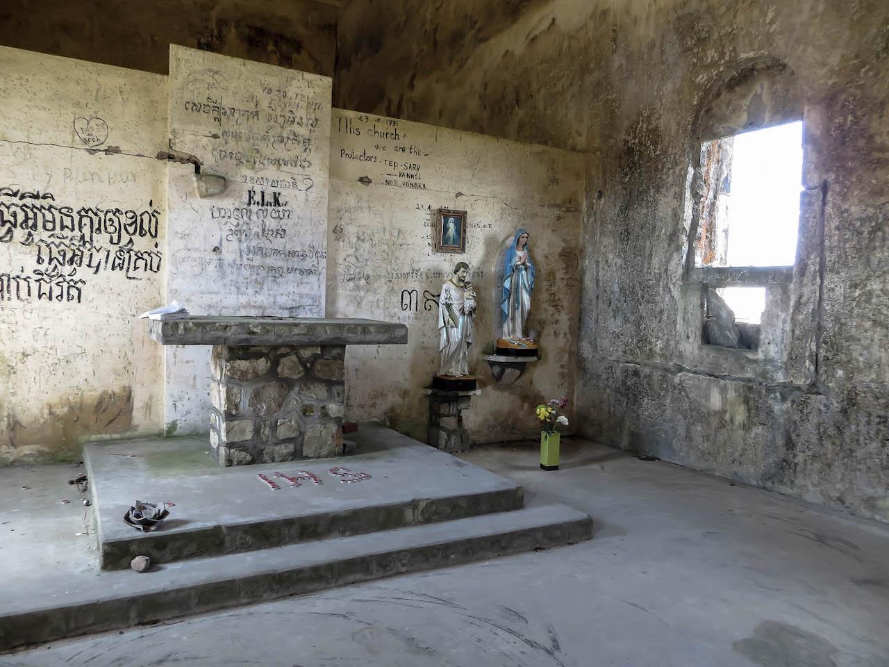 Sprachlos auf dem Bokor Hill