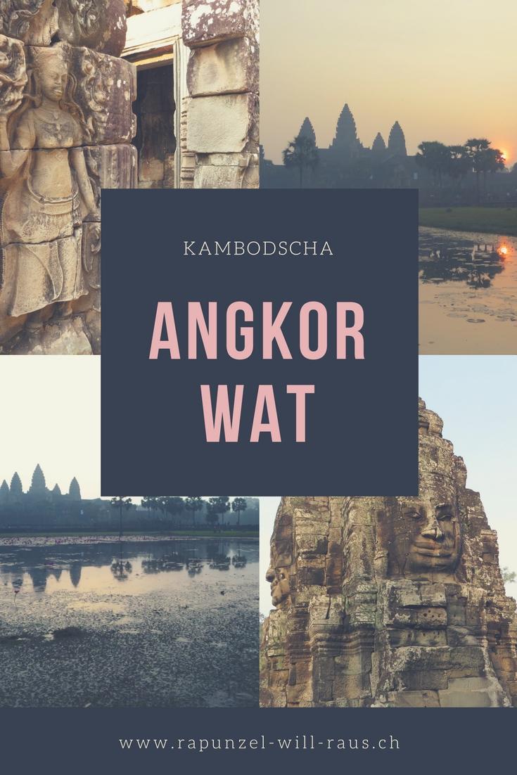 Angkor Wat, eine Reise in die Vergangenheit