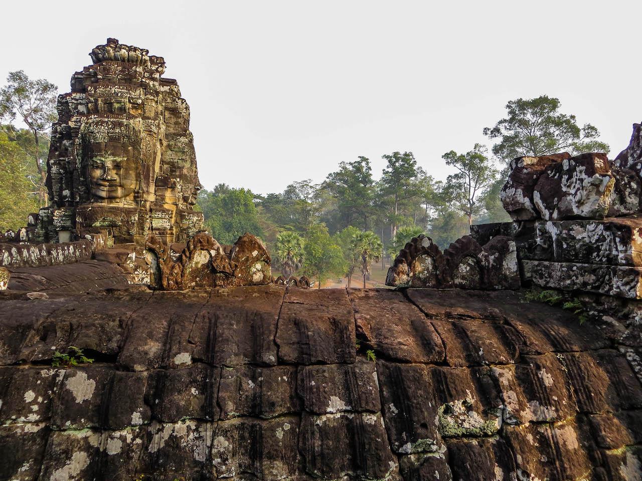Bayon in Angkor Wat.