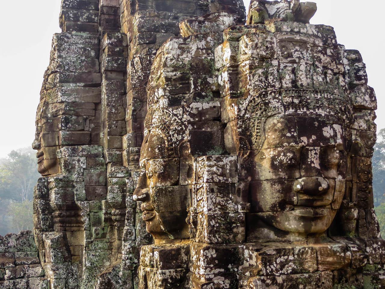 Anlage im berühmten Angkor Wat.