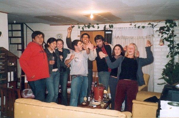 Couchsurfing in Chile - vor 10 Jahren.