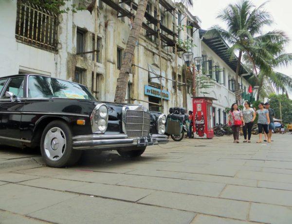 Das Viertel Kota in Jakarta mit vielen historischen Gebäuden