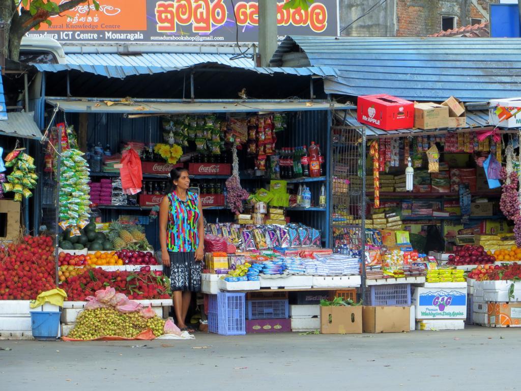freundliche und interessierte Menschen in Sri Lanka
