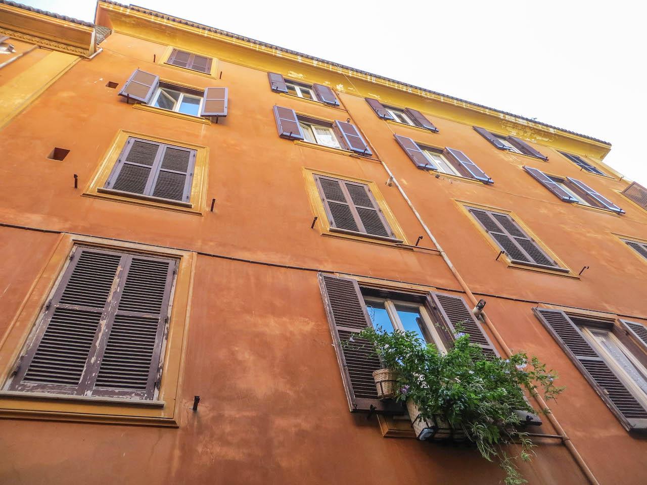 Monti, eines der schönsten Viertel in Rom.