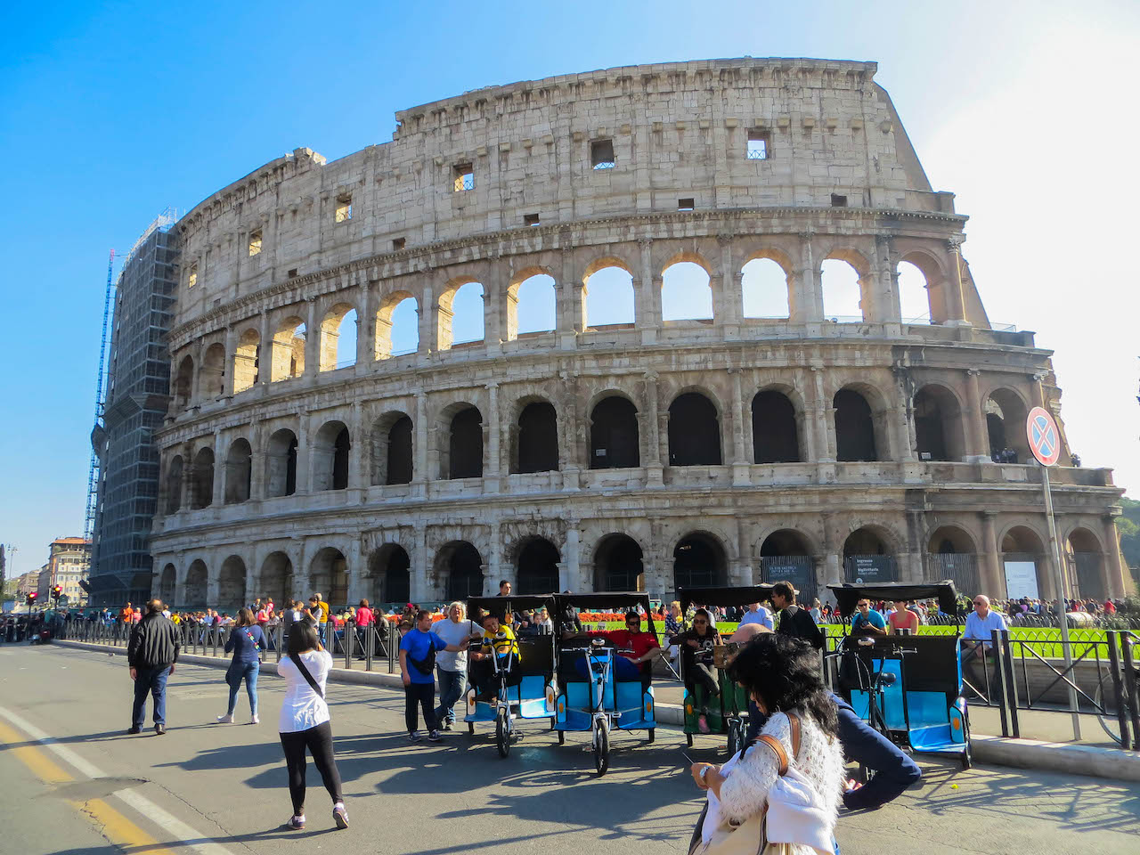 Das Kolosseum, ein Top Spot in Rom.