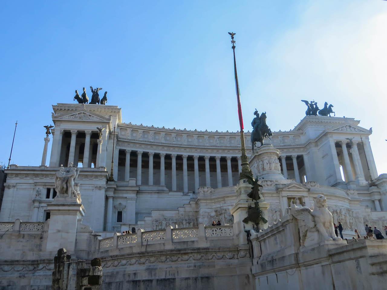 Das Nationaldenkmal Monumento Vittorio Emanuele II.