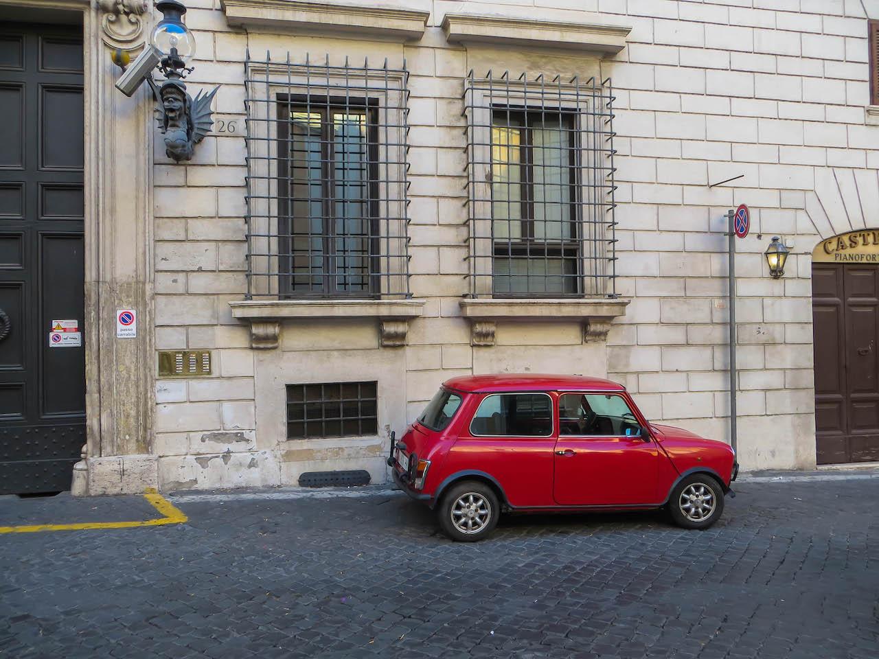 Italienische Klischees.