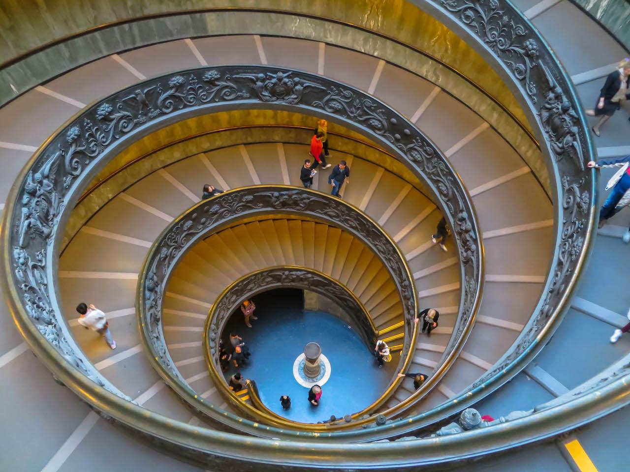 In den vatikanischen Museen.