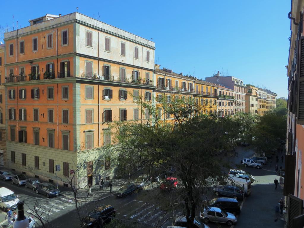 Aussicht vom Blue Hostel