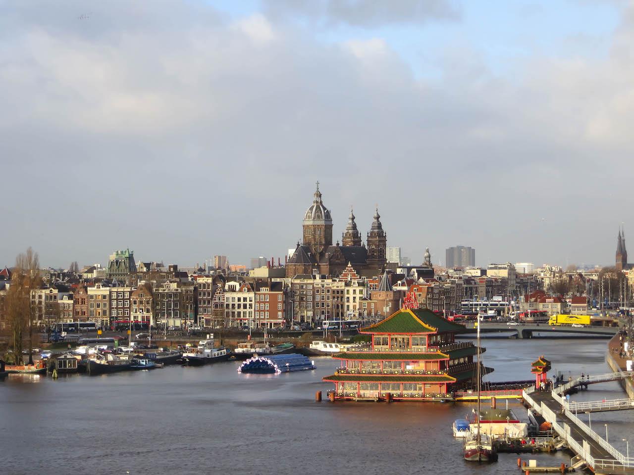 Amsterdam am Wasser.