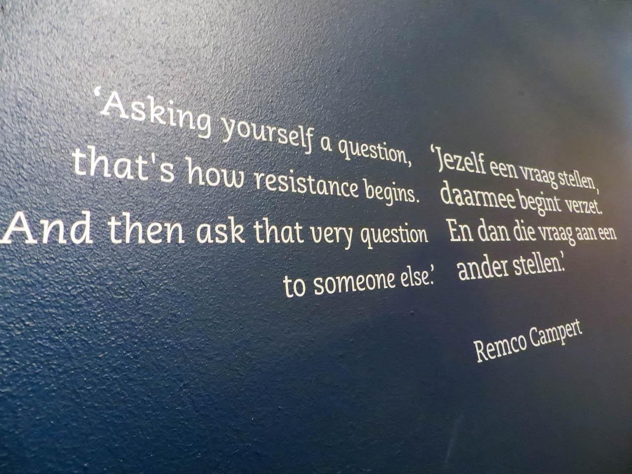 Widerstand? Oder doch Anpassen? Dieser Frage geht das Museum nach.
