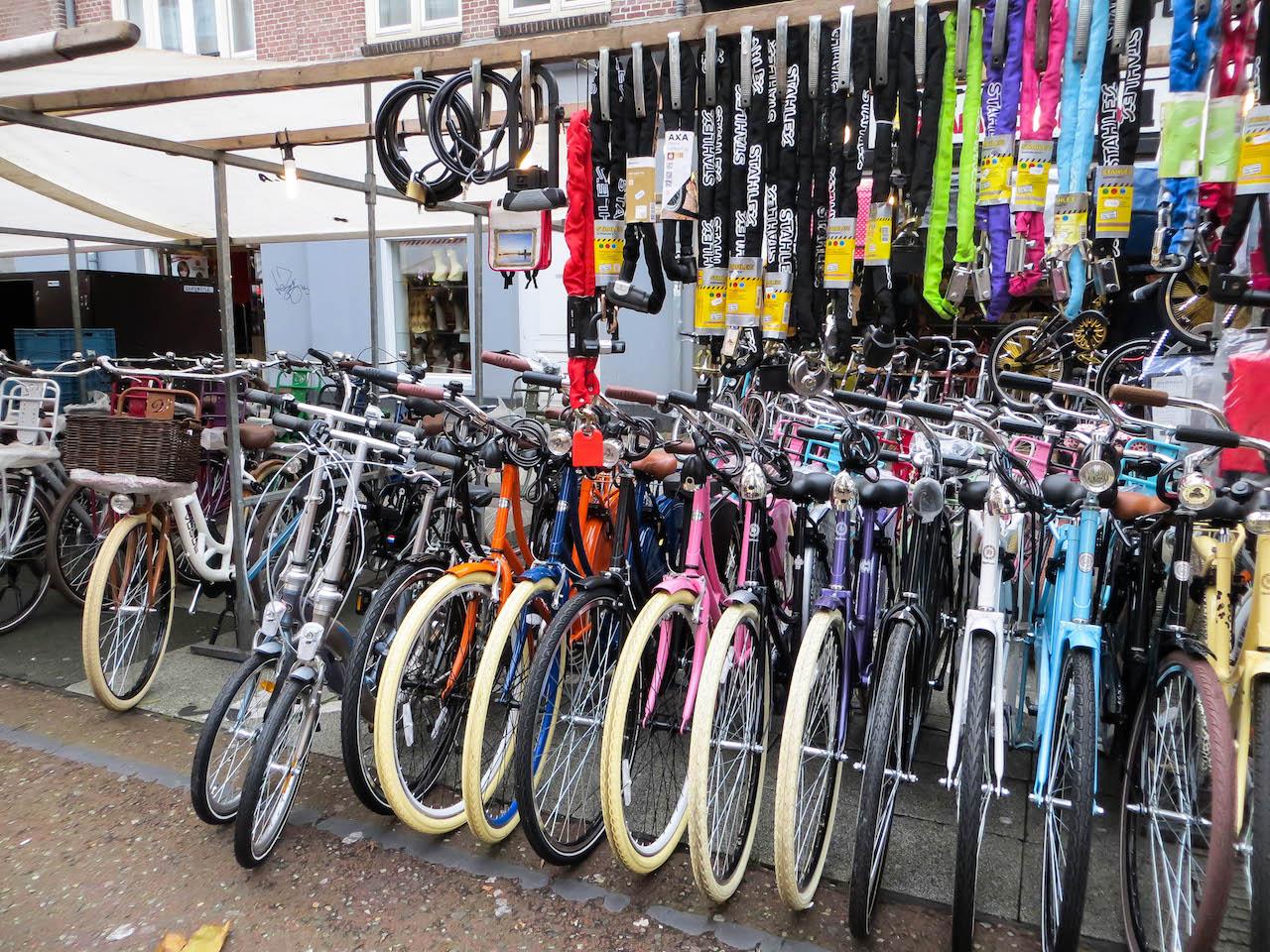 Hach, die Holländer und ihre Fahrräder!