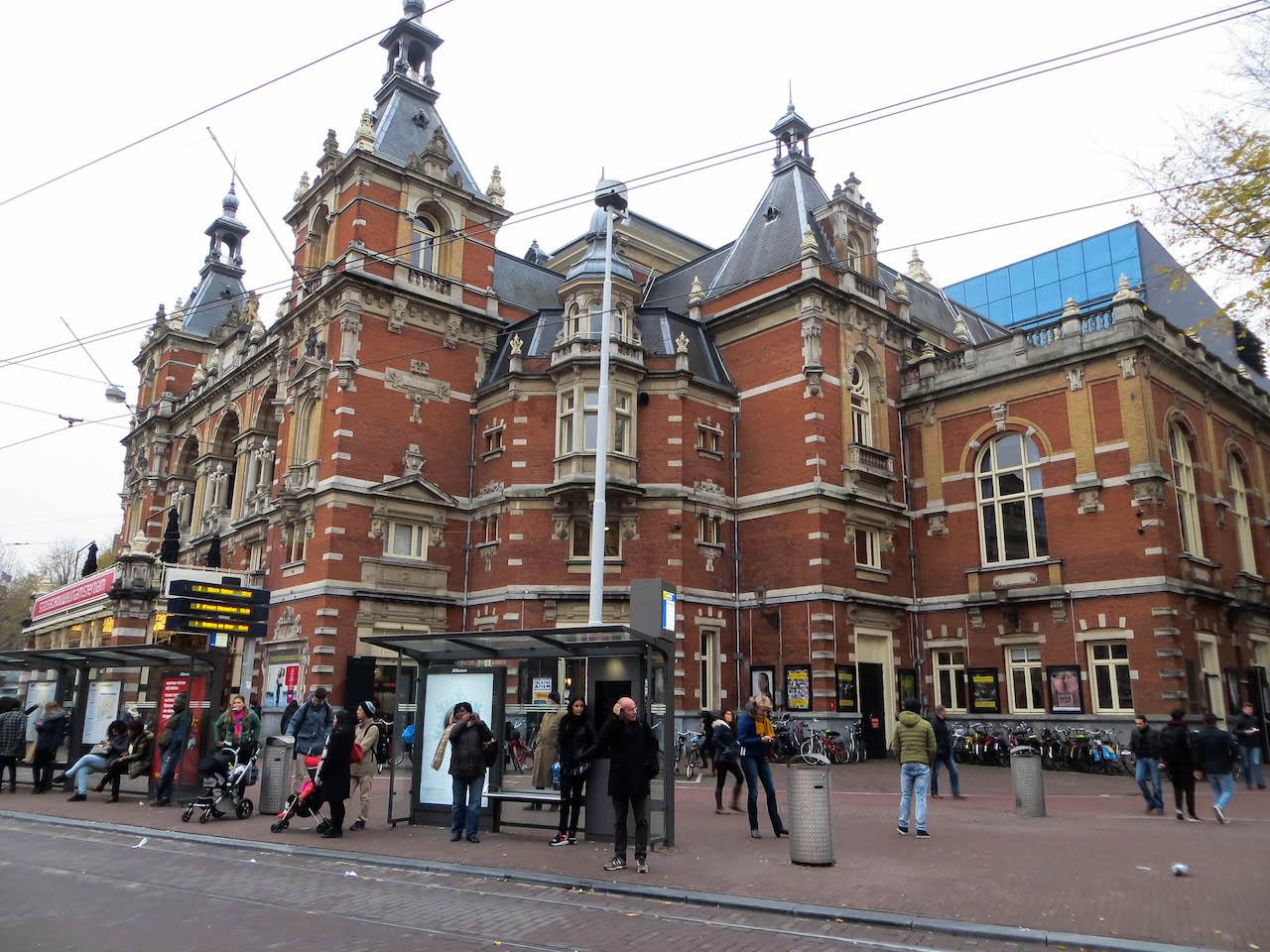 Der Leidseplein in Amsterdam.
