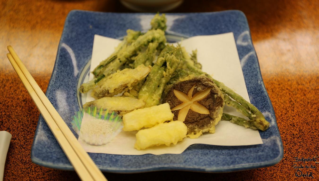 Tempura, eine japanische Köstlichkeit