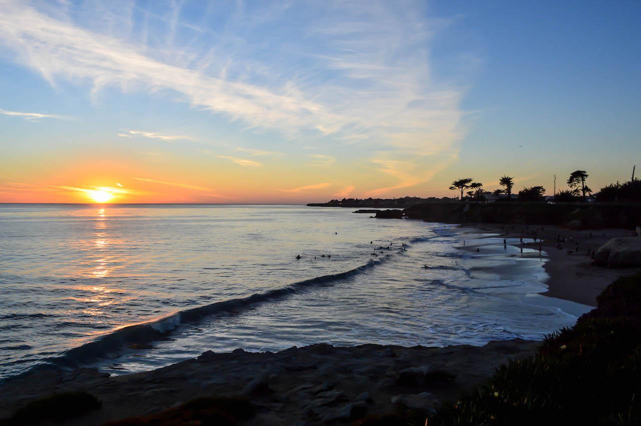 Abendstimmung in Santa Cruz.