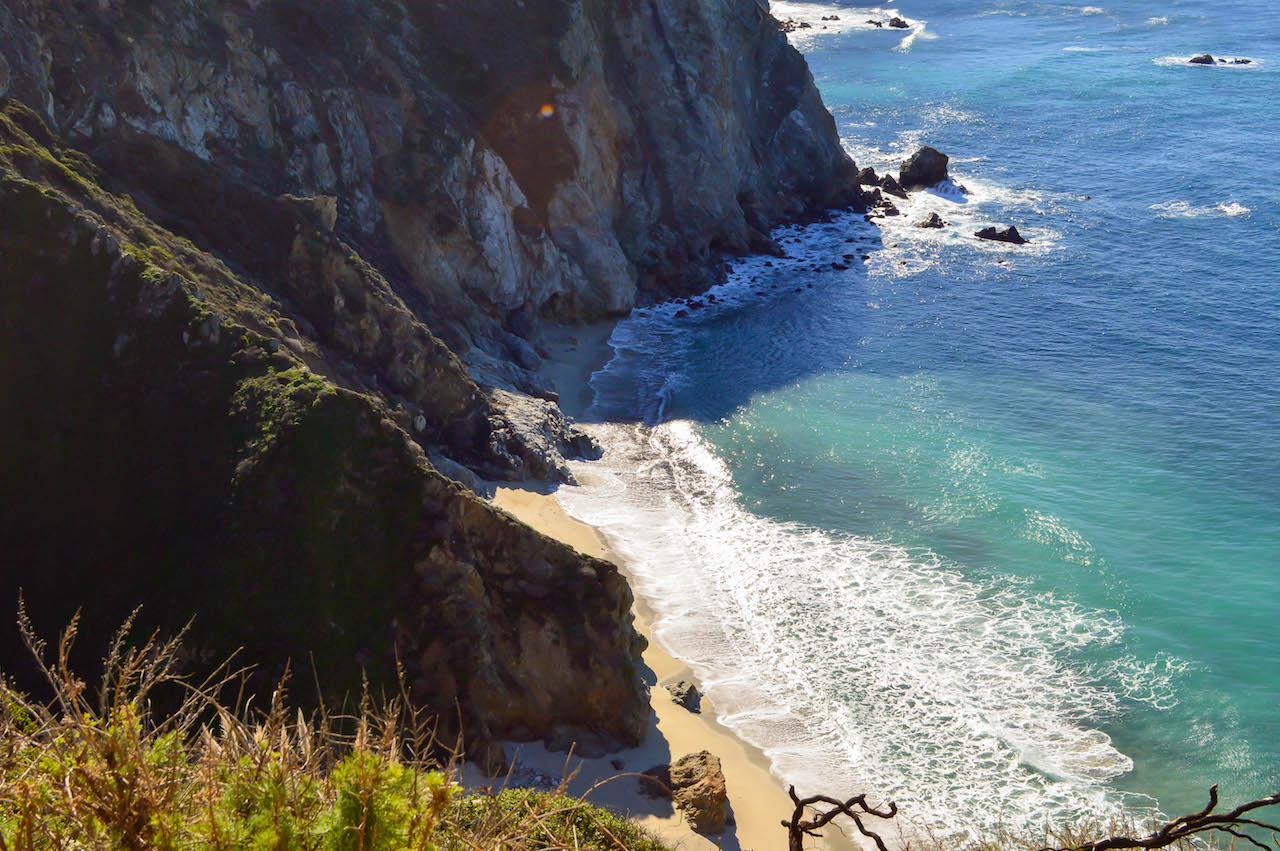 Verlockende Buchten an Kaliforniens Küste.