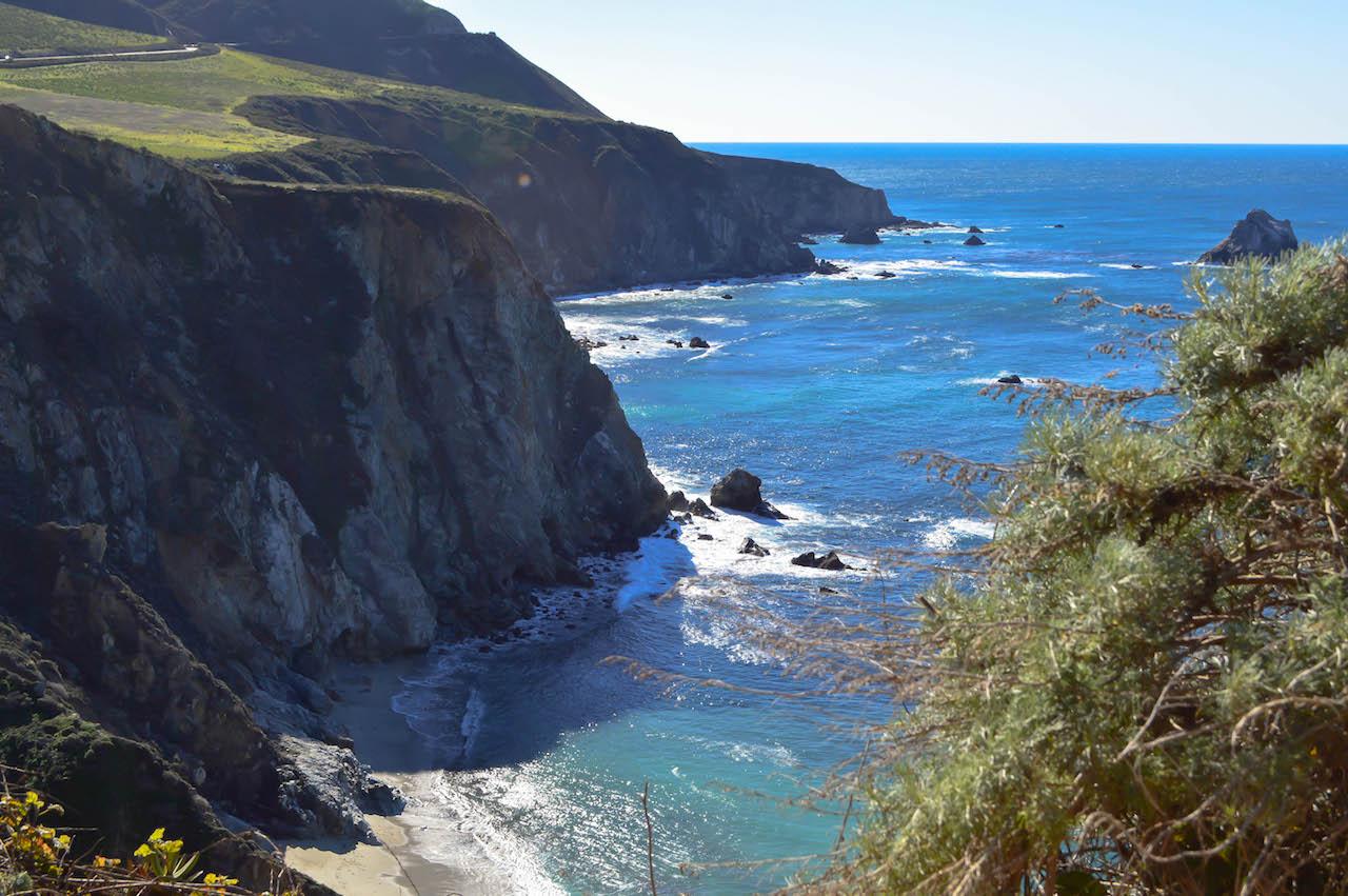 Wunderschöne Strände an Kaliforniens Küste.