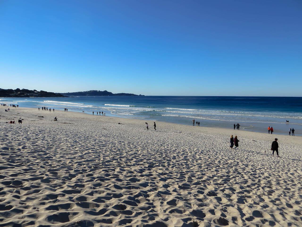 Strand bei Carmel-by-the-Sea.
