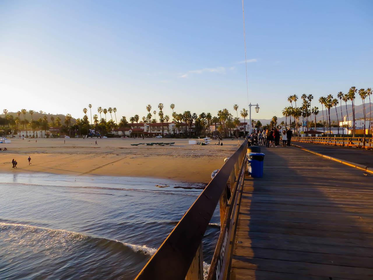 Santa Barbara, auch hier gilt: Sehen und gesehen werden.