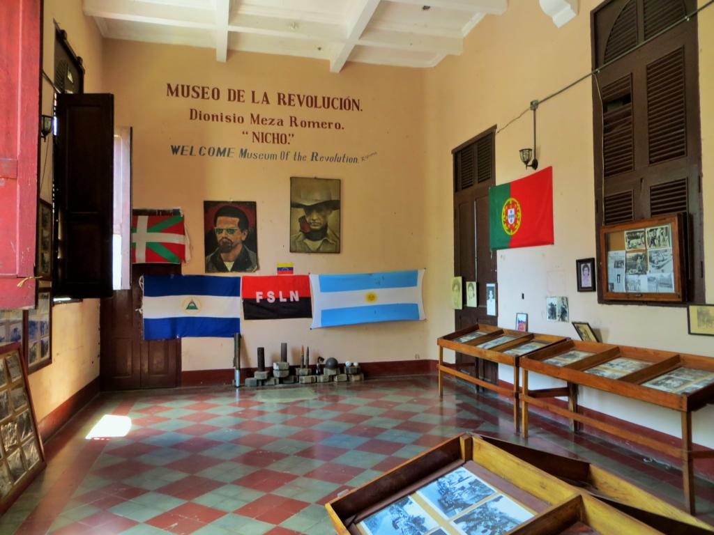 Im Revolutionsmuseum in León.