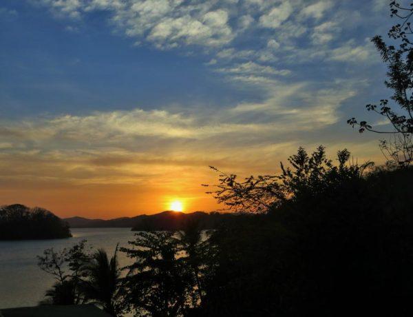 Der Sonnenuntergang ist auf den Solentiname Inseln besonders schön zu beobachten.