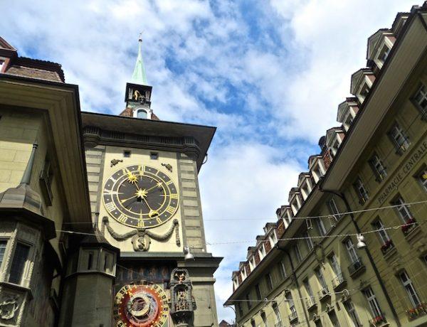 Der Zytglogge-Turm in Bern. Was wohl die Pfaffendirnen damit zu tun gehabt haben?