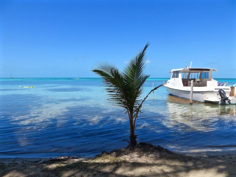 Tropische Strände in Belize.