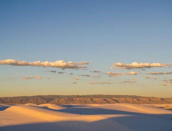 White Sands Nationalpark in New Mexiko - Foto von synke-unterwegs.com