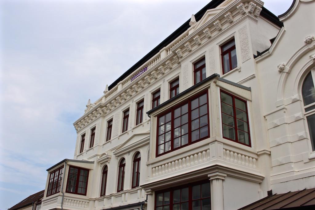 Norderney kann auch architektonisch mithalten!
