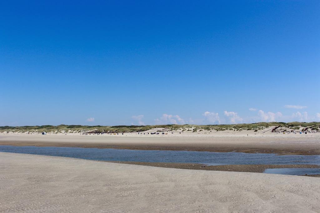 Strandspaziergang auf Juist.
