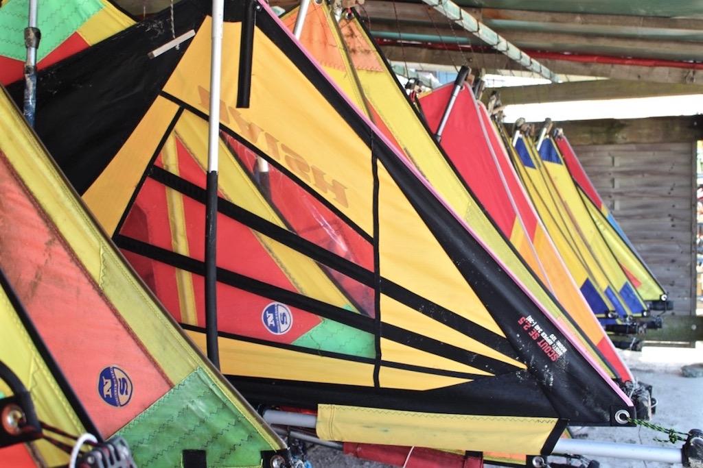 Vor allem Windsurfer und Kiter zieht es nach Norderney.