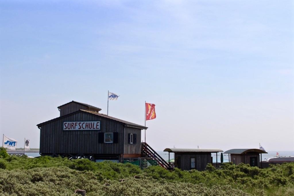 Die Surfschule auf Norderney.