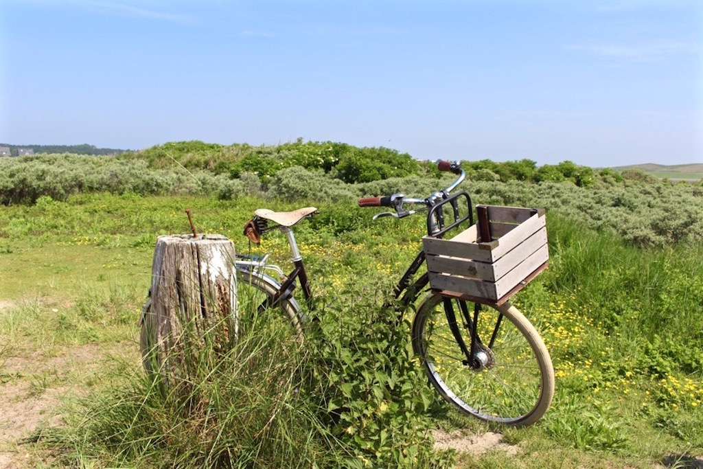 Mit dem Fahrrad lässt es sich super auf Norderney rumradeln.