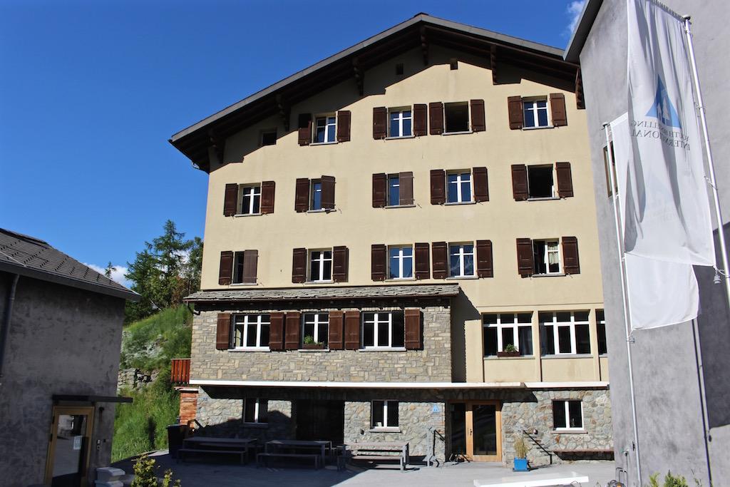 Die Jugendherberge in Zermatt.
