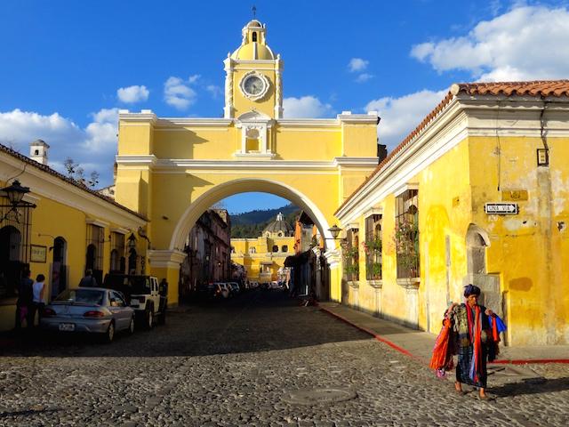 Antigua in Guatemala.