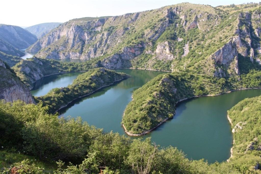 Der Fluss Uvac. Ein Bild und ich wusste: Da muss ich hin!