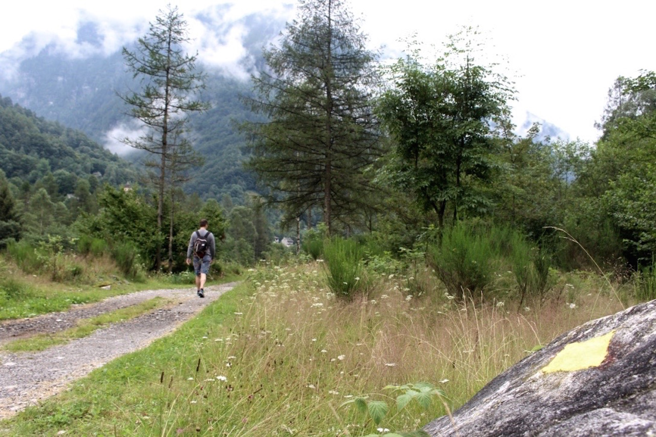 Unterwegs im Verzasca Tal im Tessin.
