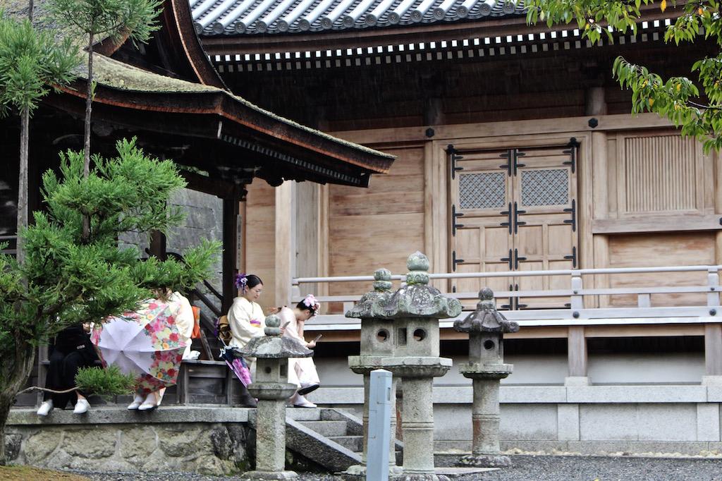 Kyoto überrascht an allen Ecken....