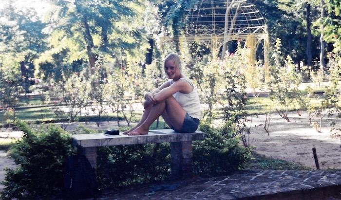 Im botanischen Garten in Asunción.