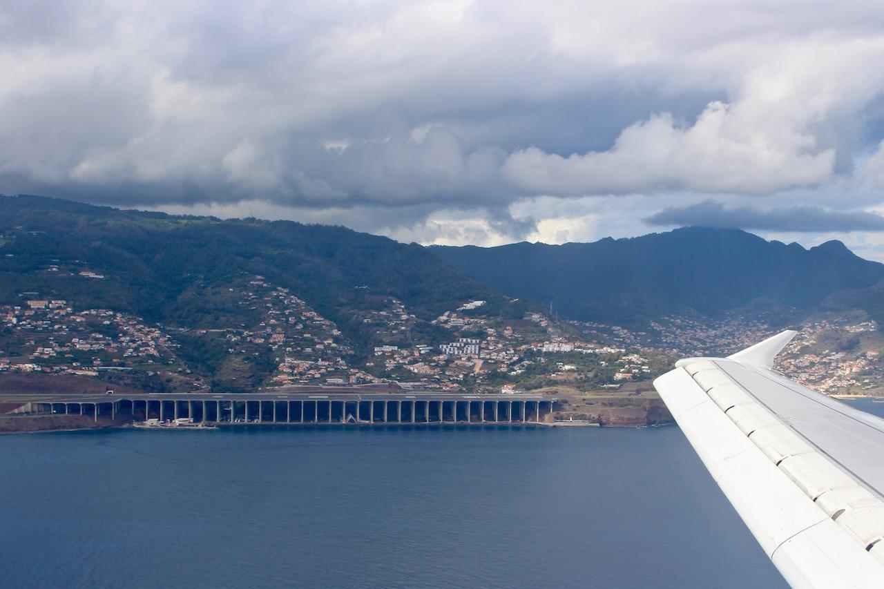Was für eine Ladepiste auf Madeira!