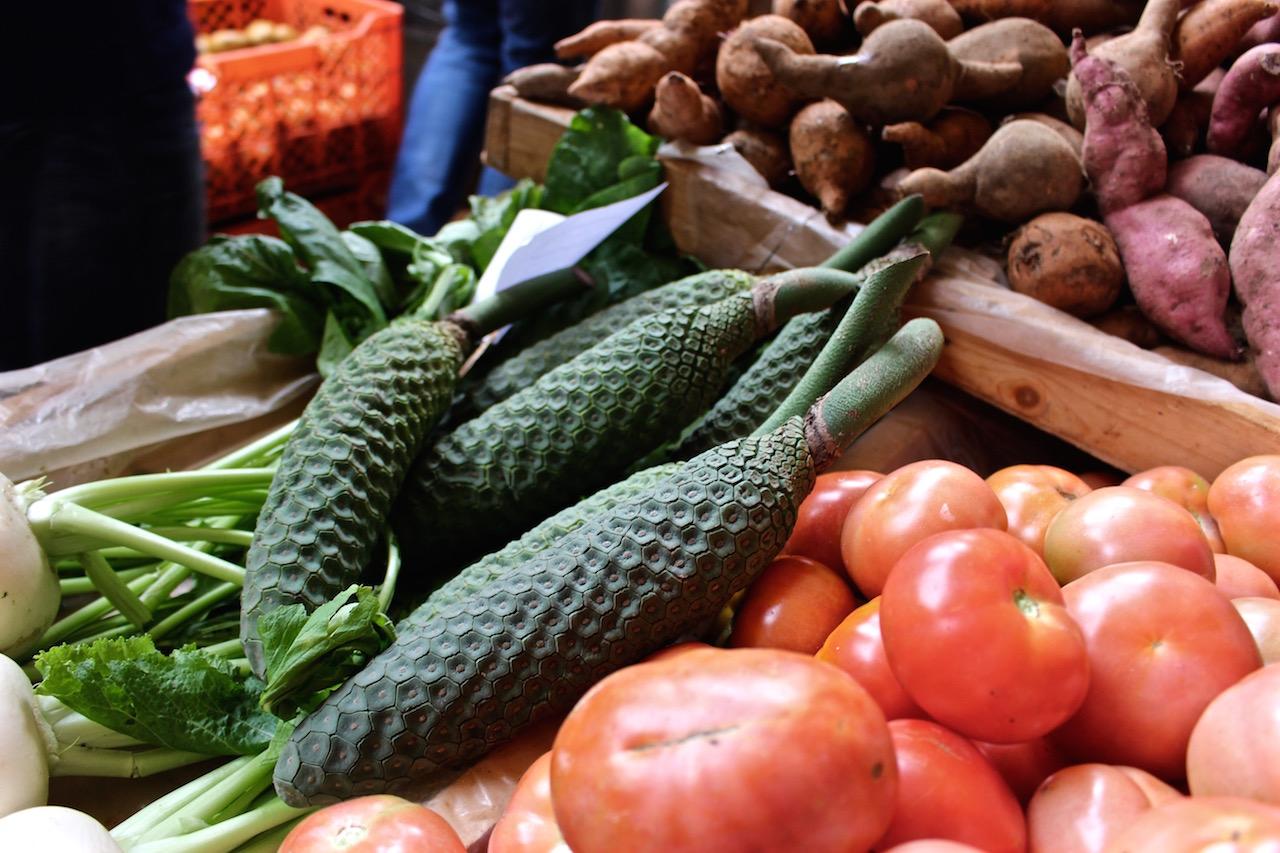 Auf dem Mercado dos Lavradores....