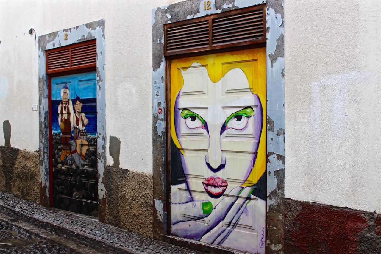 Streetart in Funchal
