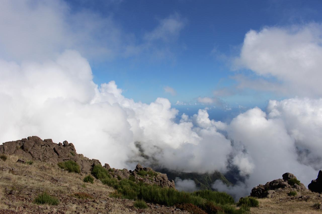 Pico do Arieiro auf Madeira.
