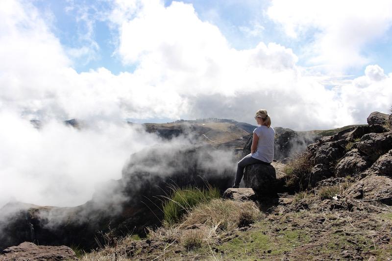 Tolle Aussichten vom Pico do Arieiro.